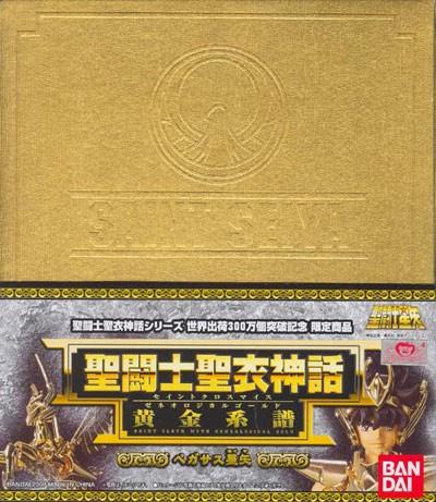Pegasus Seiya V3 - Genealogic Gold 24K