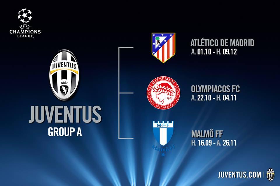 Calendario Champions 2020 Juventus.Juve Champions Calendario