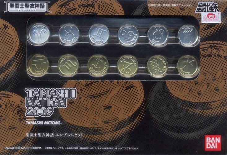 Saint Seiya Myth Cloth - Emblem Set - Tamashii Nation 2009
